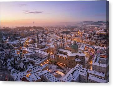 Austria Canvas Print - Salzburg by Richard Vandewalle