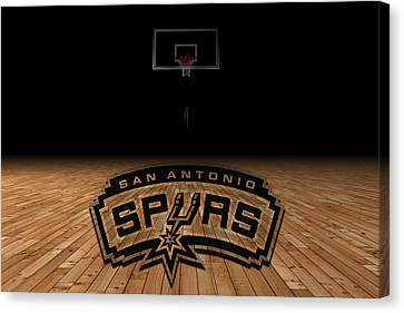 San Antonio Spurs Canvas Print by Joe Hamilton