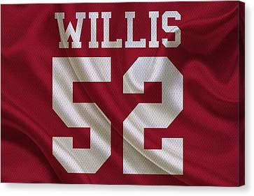 San Francisco 49ers Patrick Willis Canvas Print