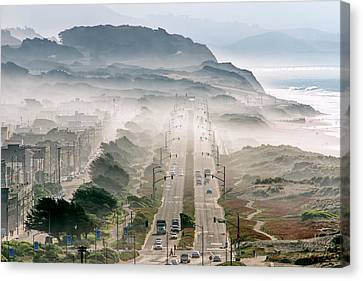San Francisco Canvas Print - San Francisco by David Yu