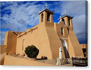 San Francisco De Asis Taos New Mexico 3 Canvas Print by Bob Christopher