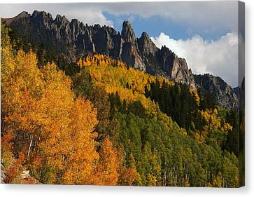 San Juan Mountains In Autumn Canvas Print by Jetson Nguyen