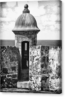 San Juan Sentry Post Canvas Print by George Oze