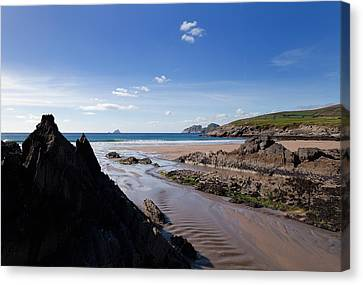 Sandy Beach Canvas Print - Sandy Beach Near Killonecaha, Ring by Panoramic Images
