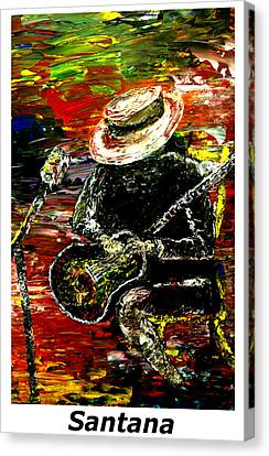 Santana  Canvas Print by Mark Moore