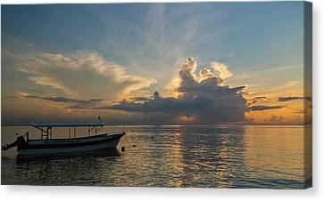 Sanur Beach - Bali Canvas Print by Matthew Onheiber