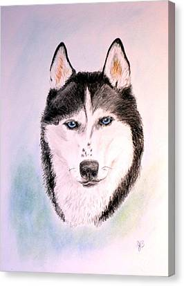 Sasha Canvas Print by Jane Baribeau