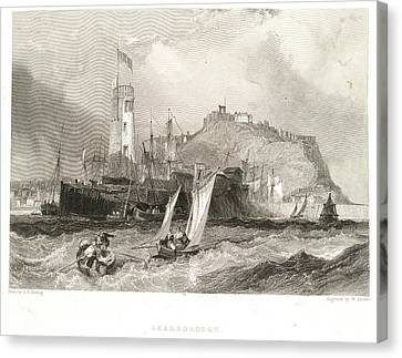 Scarborough Canvas Print by British Library