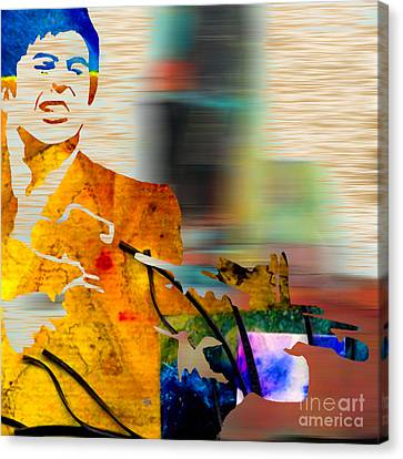Scarface Canvas Print by Marvin Blaine