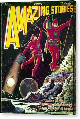 Science Fiction Cover 1929 Canvas Print by Granger