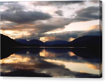 Scottish Loch Canvas Print