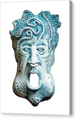 Scream Canvas Print by Evin Pesic