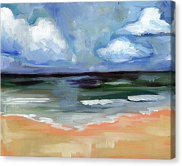 Sea Canvas Print by Anne Seay