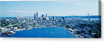 Seattle Washington Usa Canvas Print by Panoramic Images