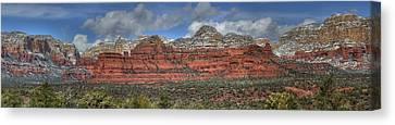 Secret Mountains Canvas Print