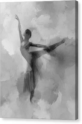 Send Me An Angel Canvas Print by Steve K