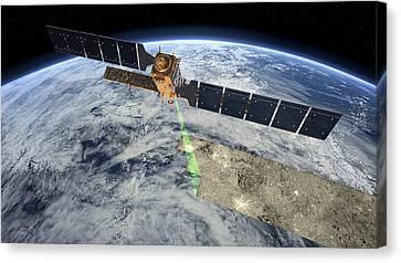Sentinel-1 Canvas Print by Esa/atg Medialab