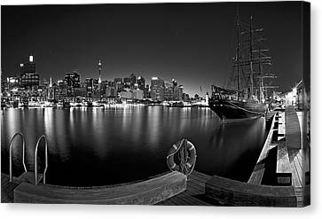 Bouys Canvas Print - Settled In Retirement by Mark Lucey