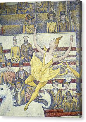 Seurat, Georges 1859-1891. The Circus Canvas Print by Everett