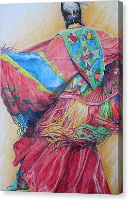 Shawl Dancer Canvas Print