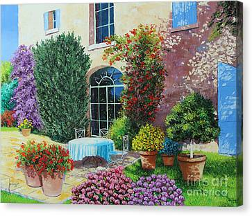 Garden Canvas Print - Shed From The Beach by Jean-Marc Janiaczyk