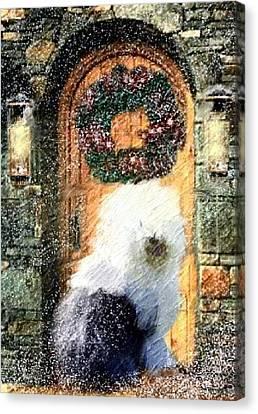 1 Sheepdog Canvas Print