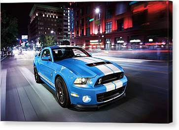 Shelby Gt Canvas Print by Art Work