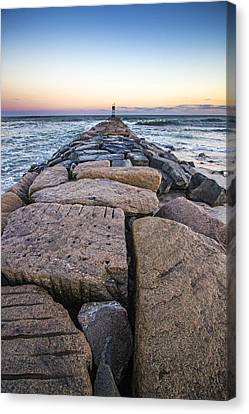 Shinnecock Inlet Jetty Canvas Print
