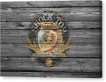 Shock Top Canvas Print by Joe Hamilton