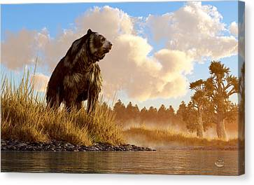 Short Faced Bear Canvas Print
