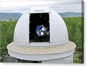 Siberian Federal University Telescope Canvas Print by RIA Novosti