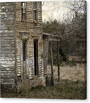 Side Porch Canvas Print by John Stephens