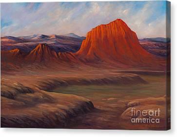 Signal Mountain Canvas Print