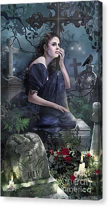 Silent Whispers Canvas Print by Drazenka Kimpel