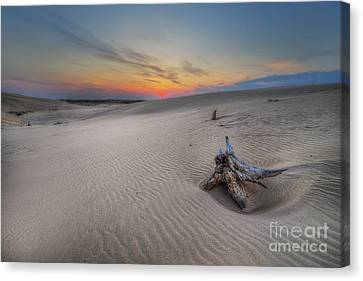 Silver Lake Sand Dunes Canvas Print by Twenty Two North Photography