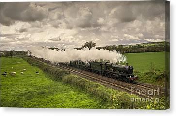 Silverton Steam  Canvas Print