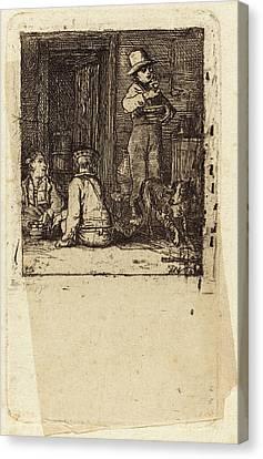 Sir David Wilkie Scottish, 1785 - 1841 Canvas Print