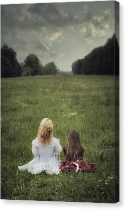 Sisters Canvas Print by Joana Kruse