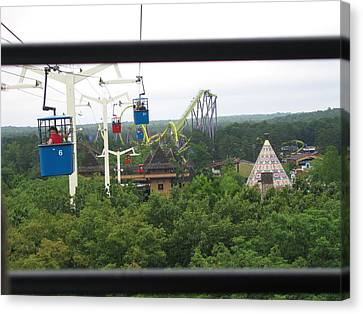 Six Flags Great Adventure - 12126 Canvas Print by DC Photographer