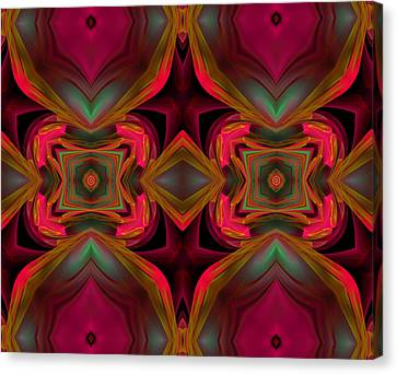 Sixties Twist Canvas Print by Georgiana Romanovna