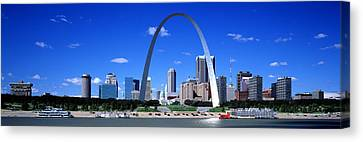 Skyline, St Louis, Mo, Usa Canvas Print by Panoramic Images