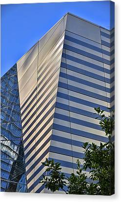 Skyscraper Abstract 4 Canvas Print by Allen Beatty