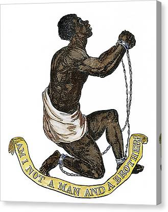 Slavery Abolition, 1835 Canvas Print