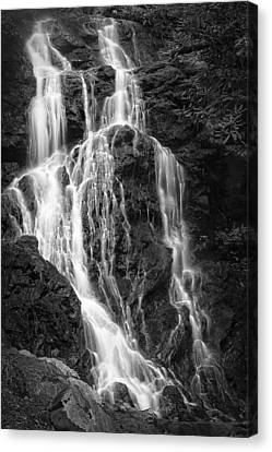 Smokey Waterfall Canvas Print by Jon Glaser