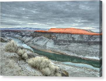 Snake River Canyon  Canvas Print