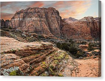 Snow Canyon State Park Utah Canvas Print
