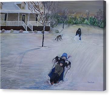 Snow Days Canvas Print