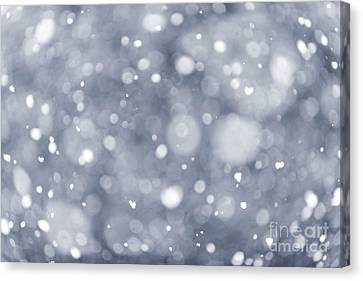 Snowfall  Canvas Print by Elena Elisseeva