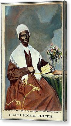 Sojourner Truth (c1797-1883) Canvas Print by Granger