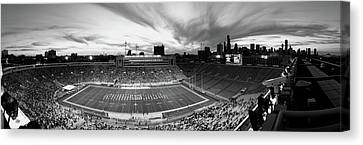 Soldier Field Football, Chicago Canvas Print by Panoramic Images